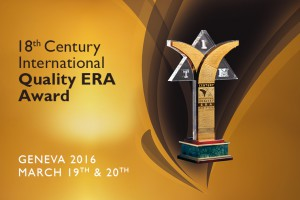 18th Century International Quality ERA (CQE) Award for Payper Pharm Naturale Ltd